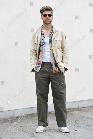 Editorial image of Street Style, Spring Summer 2020, London Fashion Week Men's, UK - 09 Jun 2019