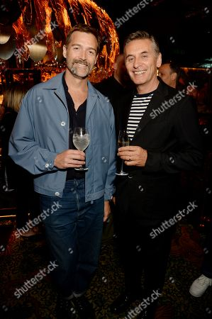 Editorial picture of The BFC/GQ Designer Menswear Fund cocktail party, Spring Summer 2020, London Fashion Week Men's, UK - 10 Jun 2019