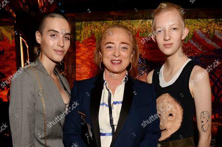 Maxim Magnus, Camilla Lowther and Finn Buchanan