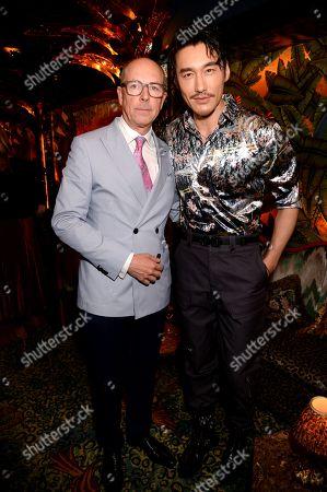 Dylan Jones and Hu Bing