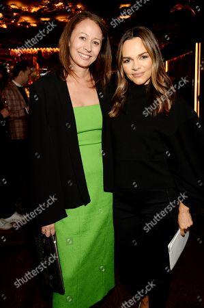 Caroline Rush and Maria Hatzistefanis