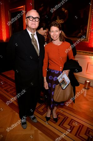 Manolo Blahnik and Lady Sarah Chatto