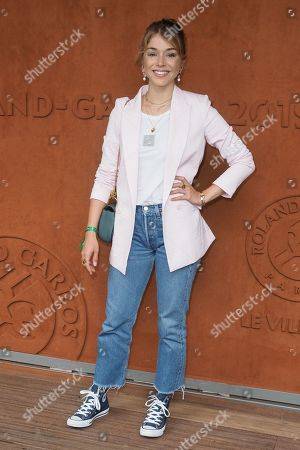 Alice Isaaz attends the Men's Singles Final