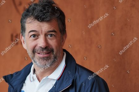 Stock Photo of Stephane Plaza attends the Men's Singles Final