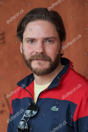 Daniel Bruhl attends the Men's Singles Final