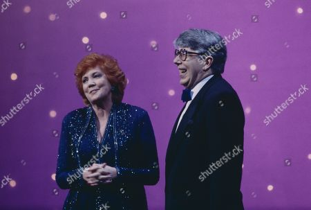 Cilla Black with Leslie Crowther
