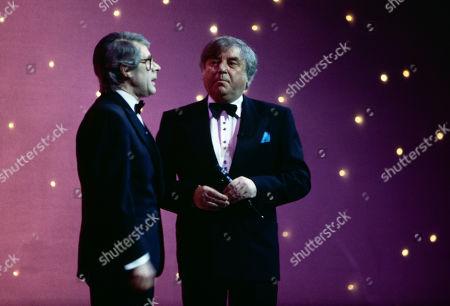 Mike Yarwood as Sir John Major, with Jimmy Tarbuck