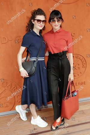 Nolwenn Leroy and her sister Kay le Magueresse Leroy