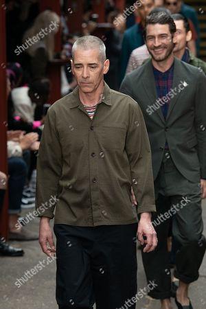 Editorial image of Oliver Spencer show, Runway, Spring Summer 2020, London Fashion Week Men's, UK - 09 Jun 2019