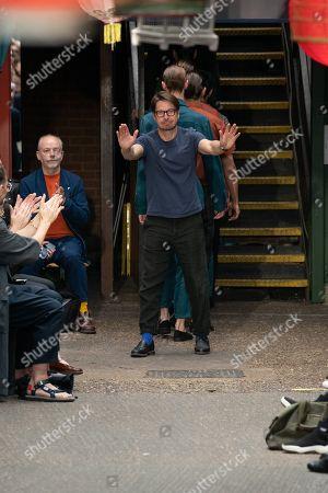 Oliver Spencer on the catwalk