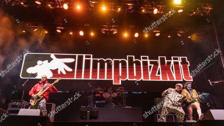 Limp Bizkit - Sam Rivers, John Otto, Fred Durst and Wes Borland