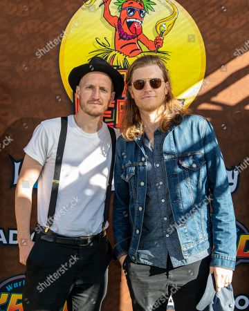 The Lumineers - Jeremiah Fraites and Wesley Schultz