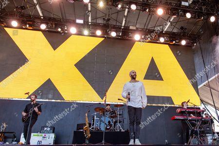 Stock Picture of X Ambassadors - Adam Levin, Sam Harris and Casey Harris