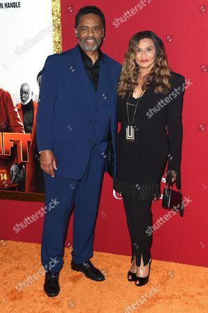 Richard Lawson and Tina Knowles