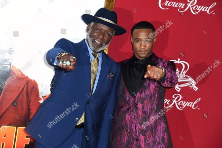 Richard Roundtree and Jessie T. Usher