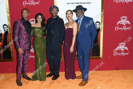 Jessie T. Usher, Regina Hall, Samuel L. Jackson, Alexandra Shipp, Richard Roundtree