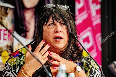 Editorial photo of E.L. James book signing and interview, The Hague, Netherlands - 10 Jun 2019