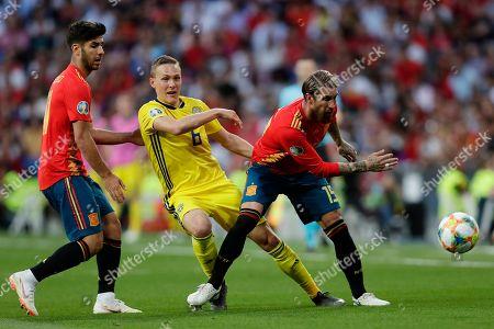 Editorial image of Sweden Euro 2020 Soccer, Madrid, Spain - 10 Jun 2019