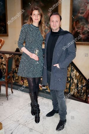 Stock Picture of Nina Zukanovic and Nicholas Kirkwood