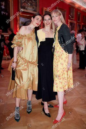 Maria Kastani, Kristina Blahnik and Jade Parfitt