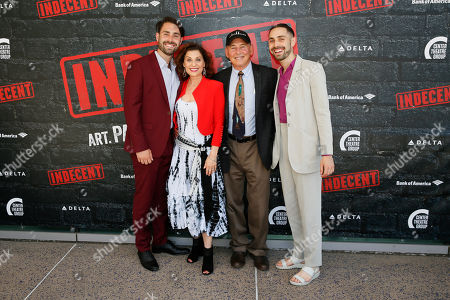 Stock Picture of Benny Lipson, Valerie Perri, Cliff Lipson and Jack Lipson