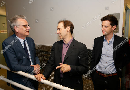 Michael Ritchie, Richard Topol and Joby Earle