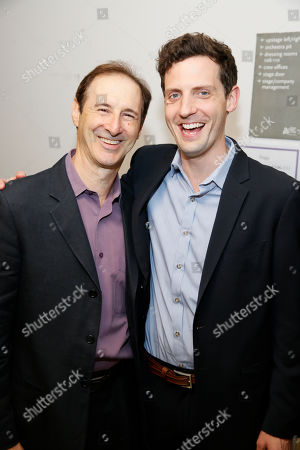 Stock Picture of Richard Topol and Joby Earle