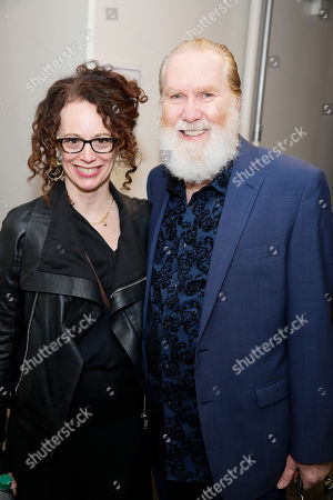 Stock Photo of Rebecca Taichman and Harry Groener