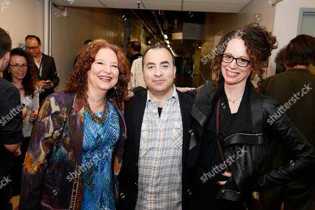 Lisa Gutkin, Steven Rattazzi and Rebecca Taichman
