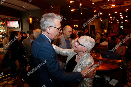 Stock Image of Michael Ritchie and Paula Vogel