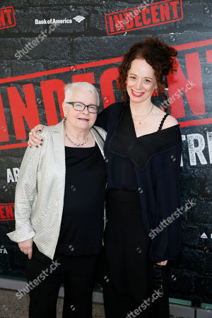 Stock Picture of Paula Vogel and Rebecca Taichman
