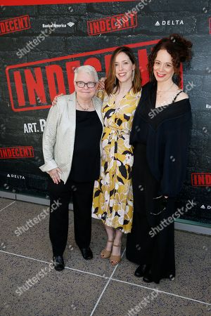 Editorial picture of 'Indecent' premiere, Center Theatre Group, Ahmanson Theatre, Los Angeles, USA - 09 Jun 2019