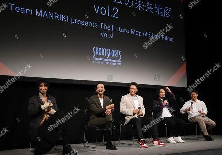 Takumi Saito, Nobuaki Kaneko, SWAY, Nagano and Yasuhiko Shimizu