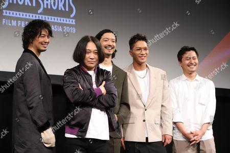 Takumi Saito, Nagano, Nobuaki Kaneko, SWAY and Yasuhiko Shimizu