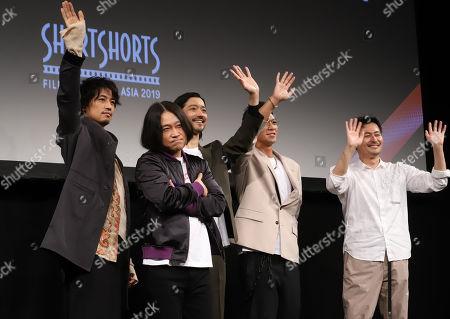 Takumi Saito, Nagano,Nobuaki Kaneko, SWAY and Yasuhiko Shimizu