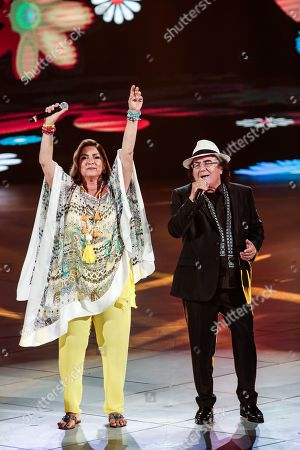Stock Photo of Romina Power and Al Bano