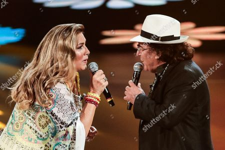 Stock Picture of Romina Power and Al Bano