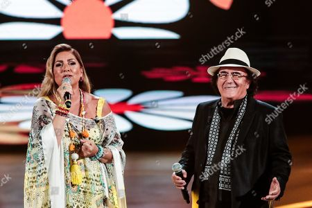 Stock Image of Romina Power and Al Bano