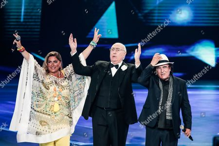 Romina Power, Pippo Baudo and Al Bano