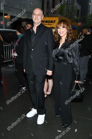 Eric Haze and Rosie Perez