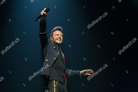Editorial picture of Westlife in concert, First Direct Arena, Leeds, UK - 10 Jun 2019