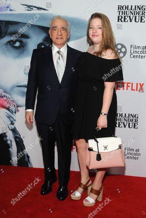 Martin Scorsese and Francesca Scorsese