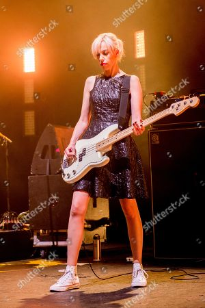 Editorial photo of Bikini Kill in concert, o2 Academy Brixton, London, UK - 10 Jun 2019