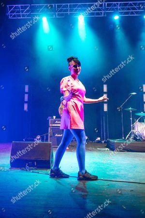 Editorial picture of Bikini Kill in concert, o2 Academy Brixton, London, UK - 10 Jun 2019