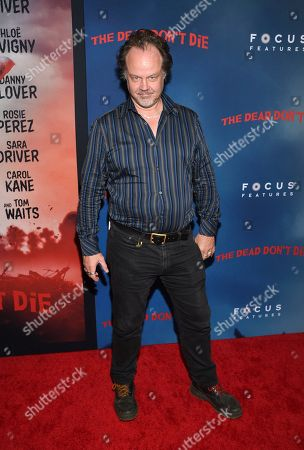 "Stock Photo of Larry Fessenden attends the premiere of ""The Dead Don't Die"" at the Museum of Modern Art, in New York"