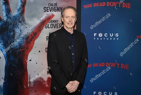 """Steve Buscemi attends the premiere of """"The Dead Don't Die"""" at the Museum of Modern Art, in New York"""