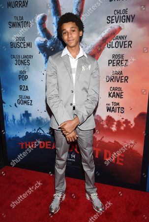 """Jaden Michael attends the premiere of """"The Dead Don't Die"""" at the Museum of Modern Art, in New York"""