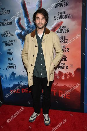 """Stock Photo of Alex Ross Perry attends the premiere of """"The Dead Don't Die"""" at the Museum of Modern Art, in New York"""