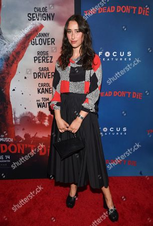 """Chloe Wise attends the premiere of """"The Dead Don't Die"""" at the Museum of Modern Art, in New York"""