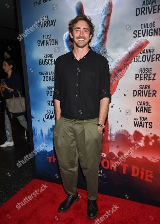 """Lee Pace attends the premiere of """"The Dead Don't Die"""" at the Museum of Modern Art, in New York"""